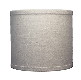 Urbanest linen drum lamp shade 8 inch by 8 inch by 7 inch urbanest linen drum lamp shade 8 inch by 8 inch by 7 aloadofball Choice Image