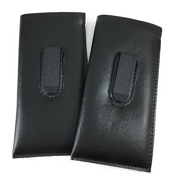 Amazon.com: Paquete de 2 fundas para gafas de sol y gafas de ...
