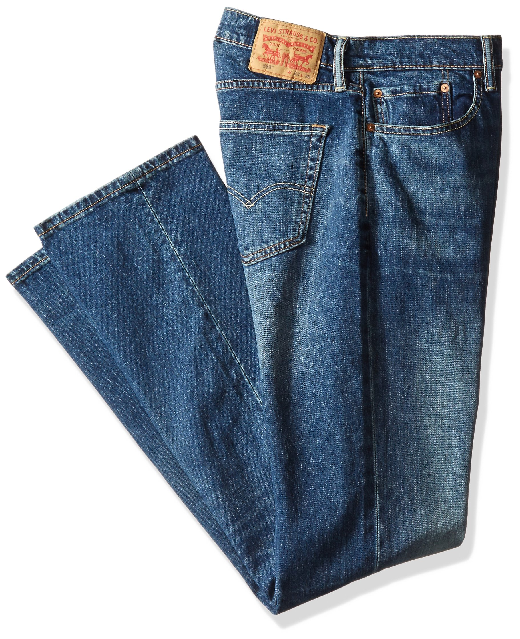 ef215042005 Levi's Men's Big and Tall Big & Tall 559 Relaxed Straight Jean, Giant Reed -