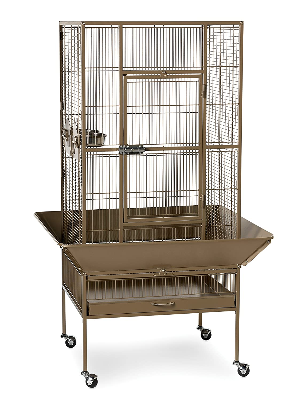 Coco Brown Prevue Pet Products 3352COCO Park Plaza Bird Cage, Coco Brown