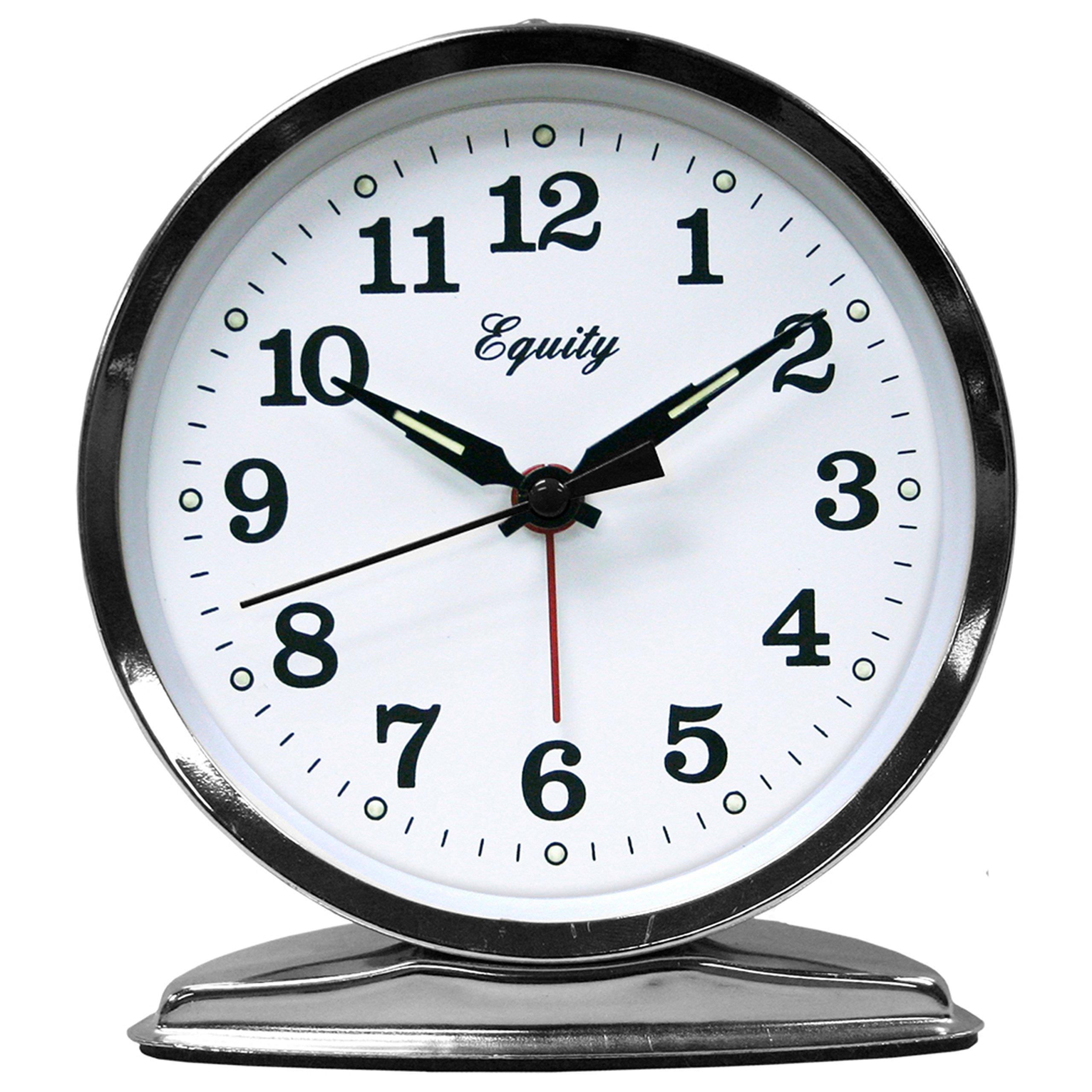 Equity by La Crosse Wind-Up Loud Bell Alarm Clock   eBay