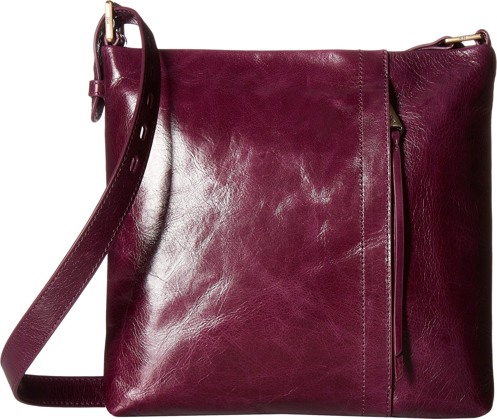 Hobo Women's Vintage Hide Drifter Crossbody Bag (Eggplant)
