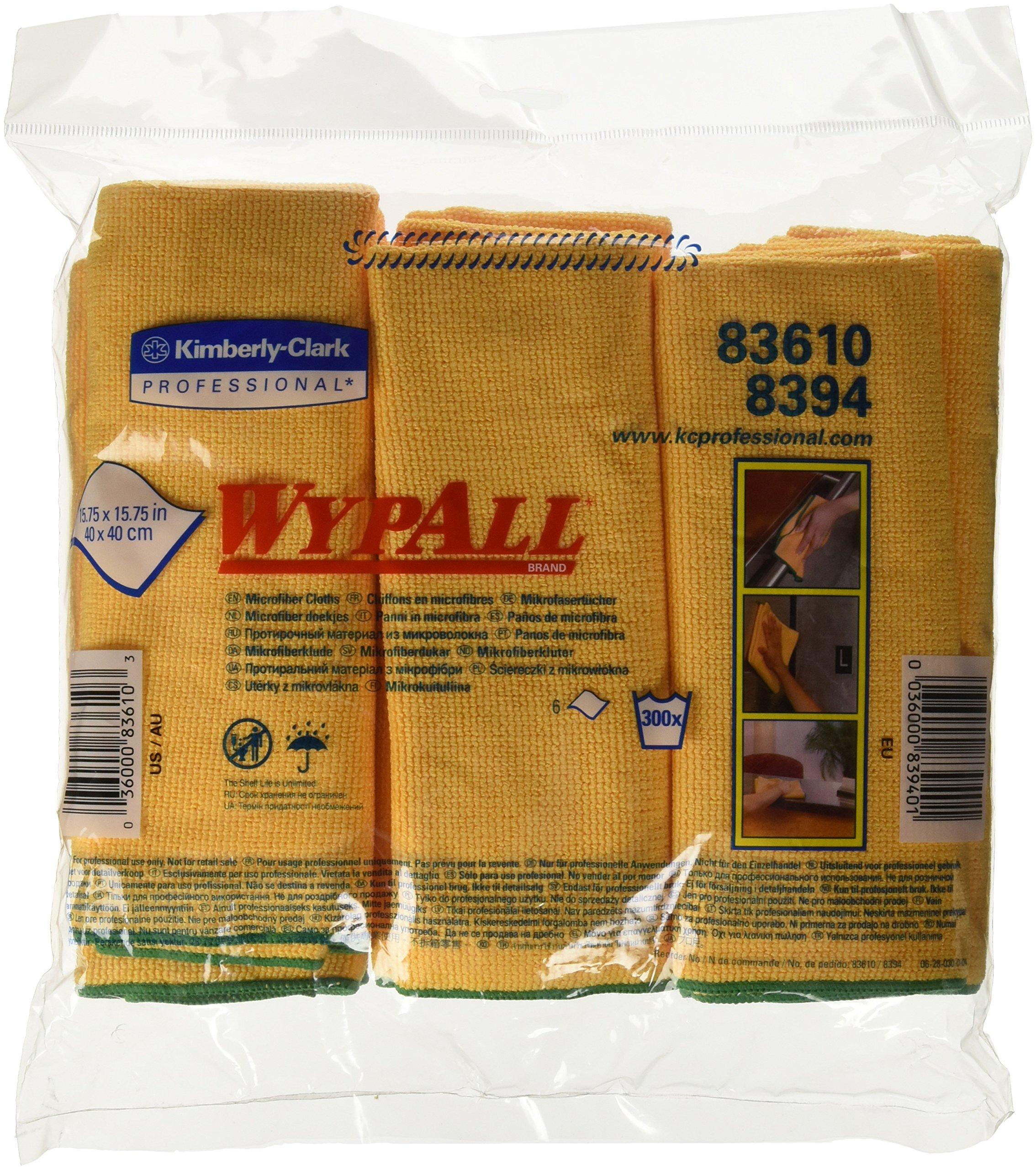 KIM83610 - KIMBERLY CLARK WYPALL Cloths w/Microban by Kimberly-Clark (Image #3)