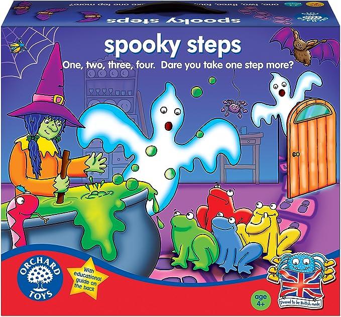 Orchard Toys Spooky Steps - Juego de Mesa de Estrategia: Amazon.es ...