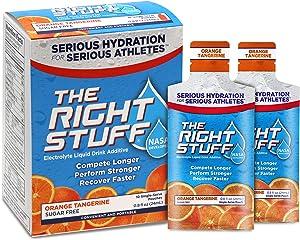 The Right Stuff Electrolyte Drink additive Std - Retail 10-Pouch Box - Orange Tangerine