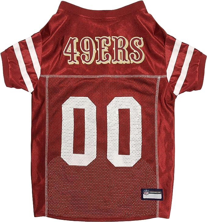 Amazon.com: NFL SAN FRANCISCO 49ERS DOG Jersey, X-Large: Sports ...