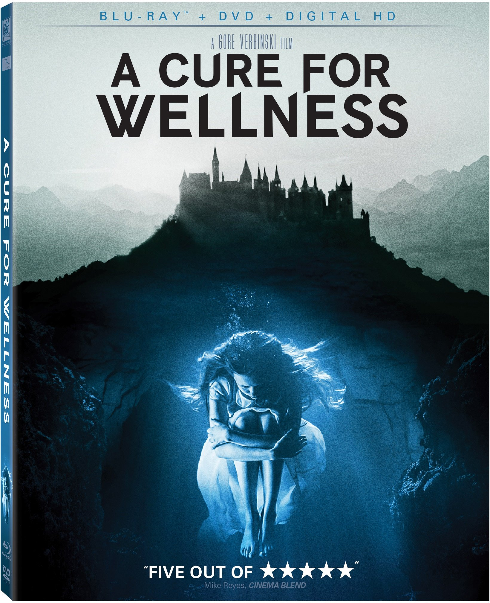 Blu-ray : A Cure for Wellness (Digital Theater System, AC-3, Dolby, , Dubbed)
