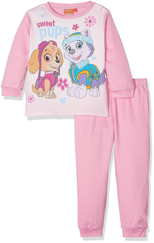Nickelodeon Baby Girls' Paw Patrol Colorful Sweet Pups Pyjama Set