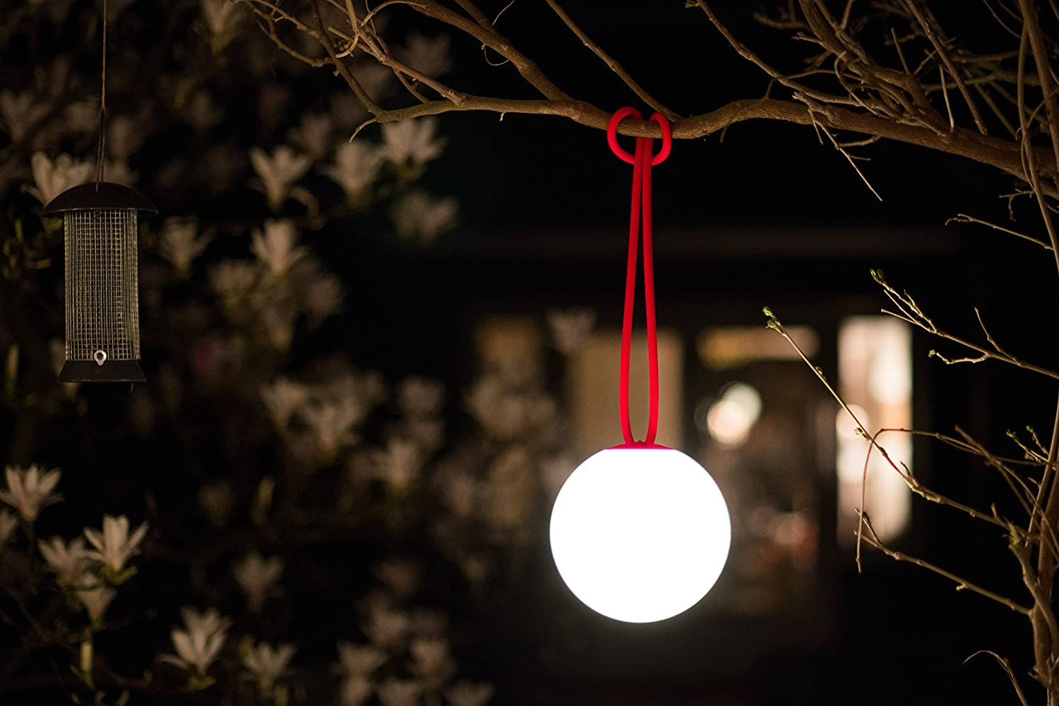 Fatboy/® Bolleke Taupe Hanging lamp for Indoor /& Outdoor Charges with USB Wireless//no Cable