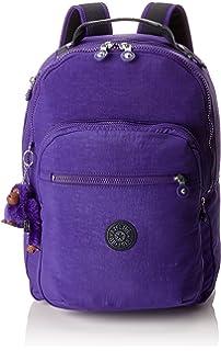 Kipling CLAS SEOUL Mochila escolar, 45 cm, 25 litros, Morado (Summer Purple