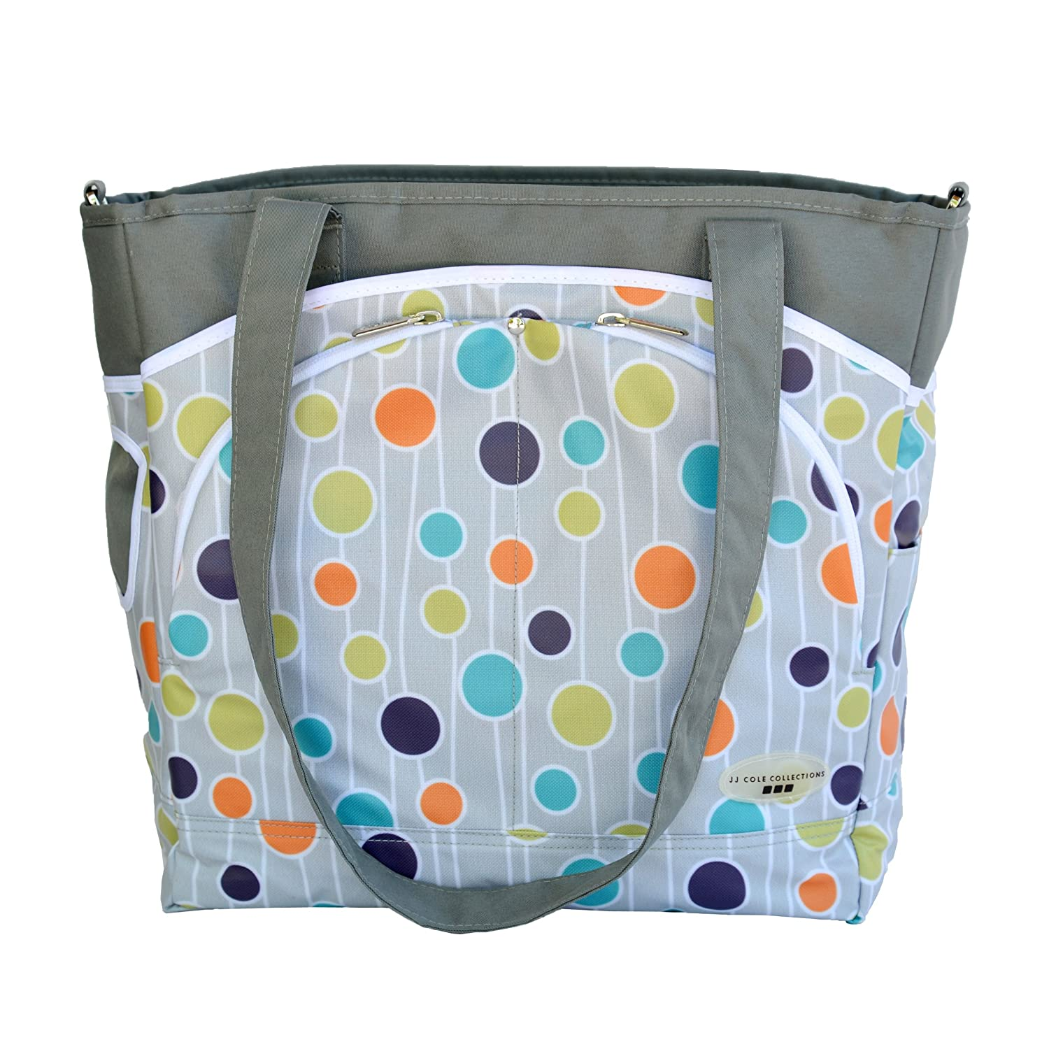 JJ Cole Mode - Bolso de maternidad multicolor Tomy Spain JMMPP
