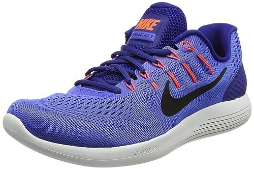 Nike Lunarglide Running 8 Zapatillas de (Medium Running Lunarglide Para Hombre Azul 93aa8f