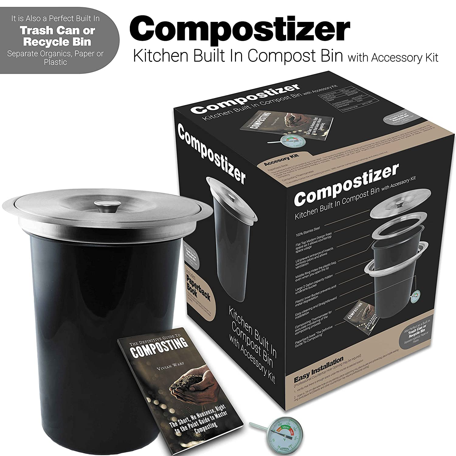 Introducing compostizer construido en 2 Gal - Encimera de ...