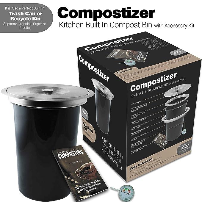 Introducing compostizer construido en 2 Gal - Encimera de ...