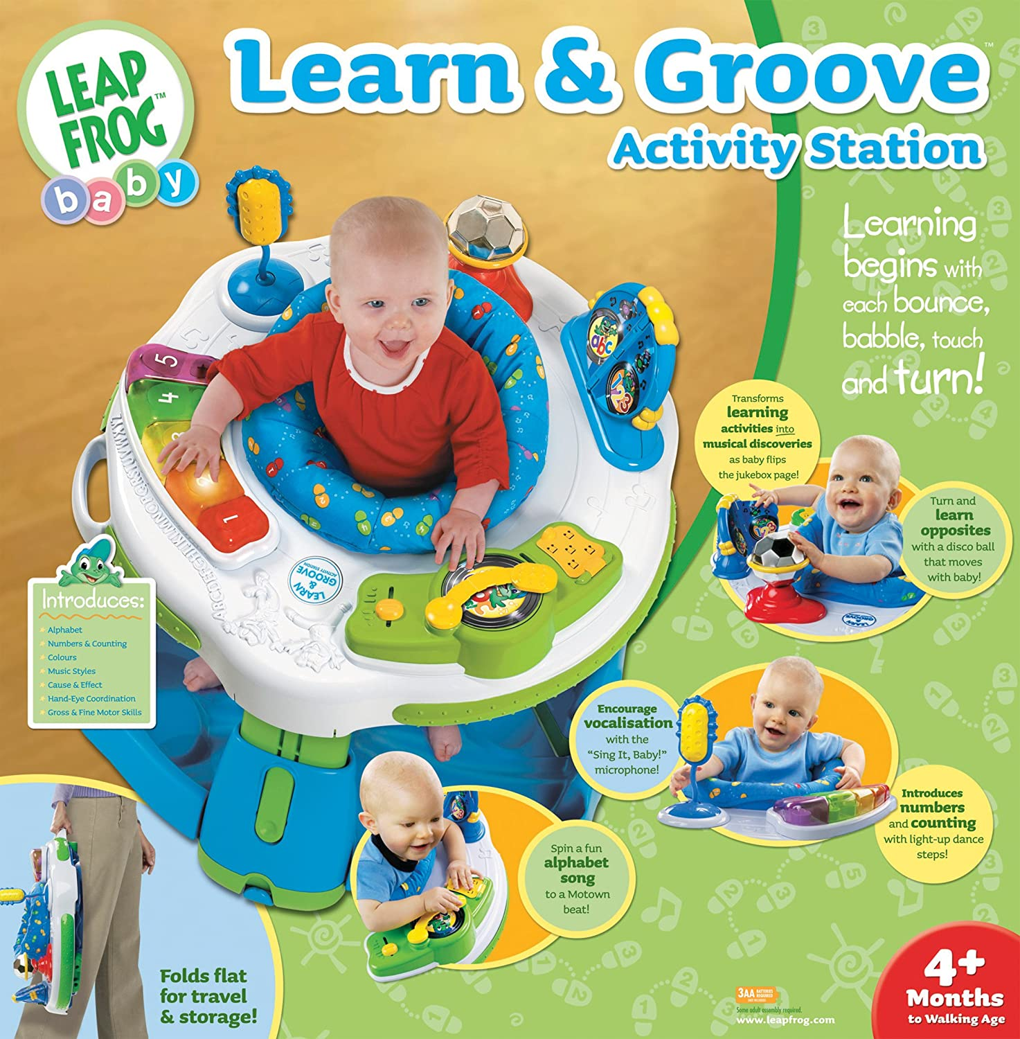 Amazon Leapfrog Learngroove Activity Station Toys Games