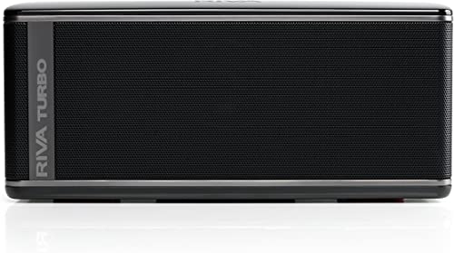 RIVA TURBO X RTX01B Non-charging only works with power cord Premium Wireless Bluetooth Speaker Black Renewed
