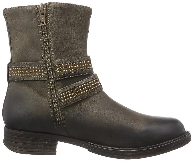 SPM Bovet Ankle Boot, Bottes de Motard Courtes, Doublure Froide FemmesMarronBraun (Taupe 008/Taupe 006), 36 EU
