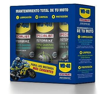 WD-40 Total de Moto en Ambiente Specialist Motorbike Spray, 400mL, Caja de 3: Amazon.es: Industria, empresas y ciencia