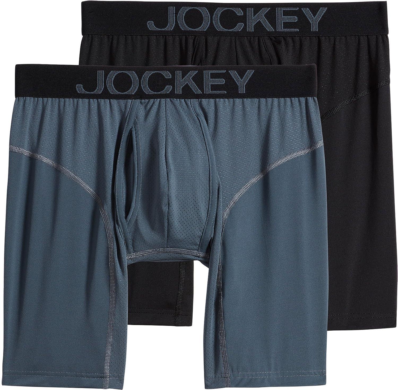 Jockey UNDERWEAR メンズ B079WK8JC9  Nerves of Steel/Black Large