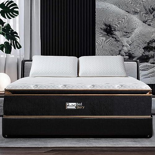 BedStory 12 Inch Hybrid Mattress California King