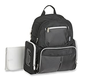 Graco Gotham Smart Organizer System Back Pack Diaper Bag Review