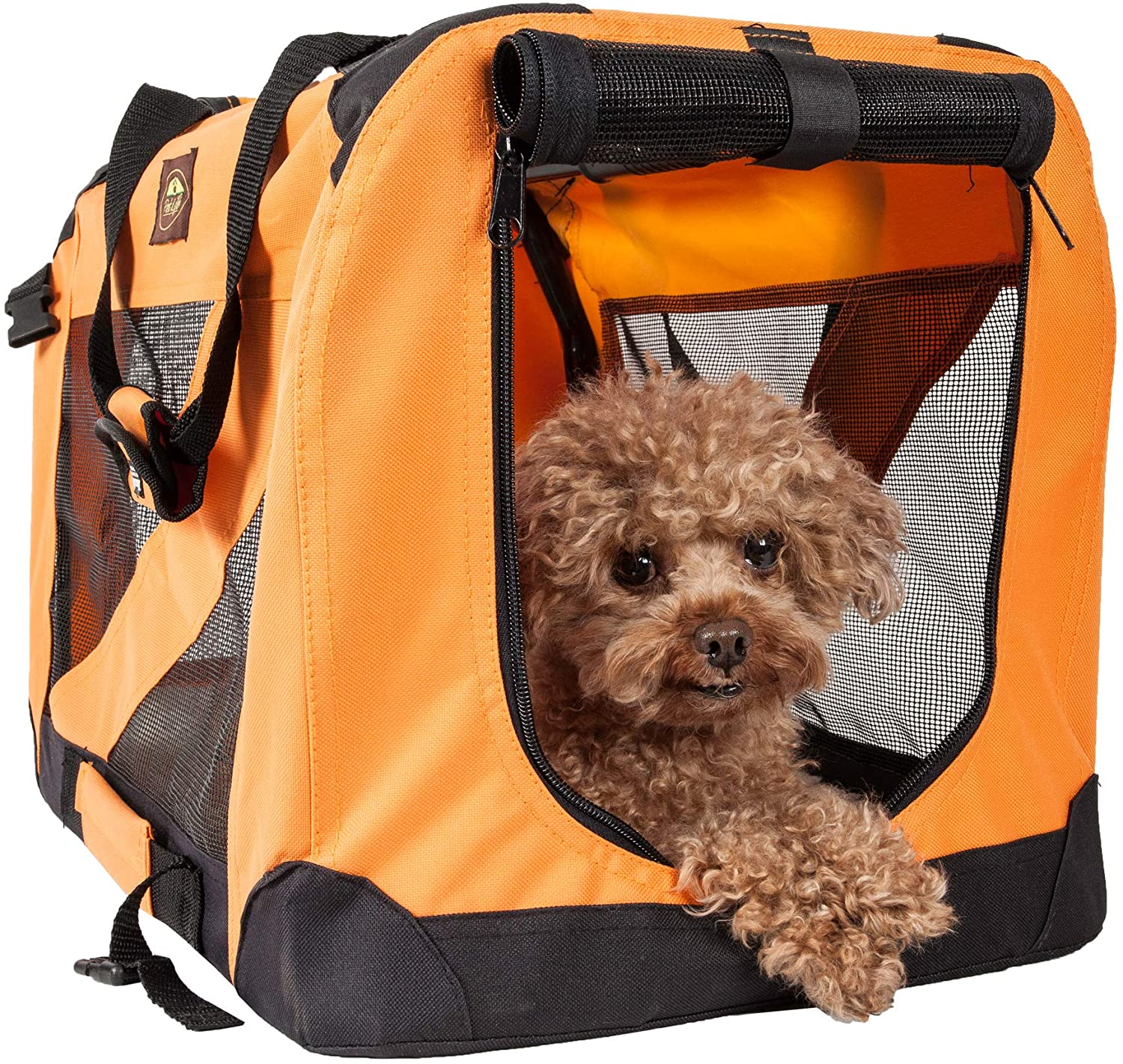 Folding Zippered 360 Vista View House Pet Crate