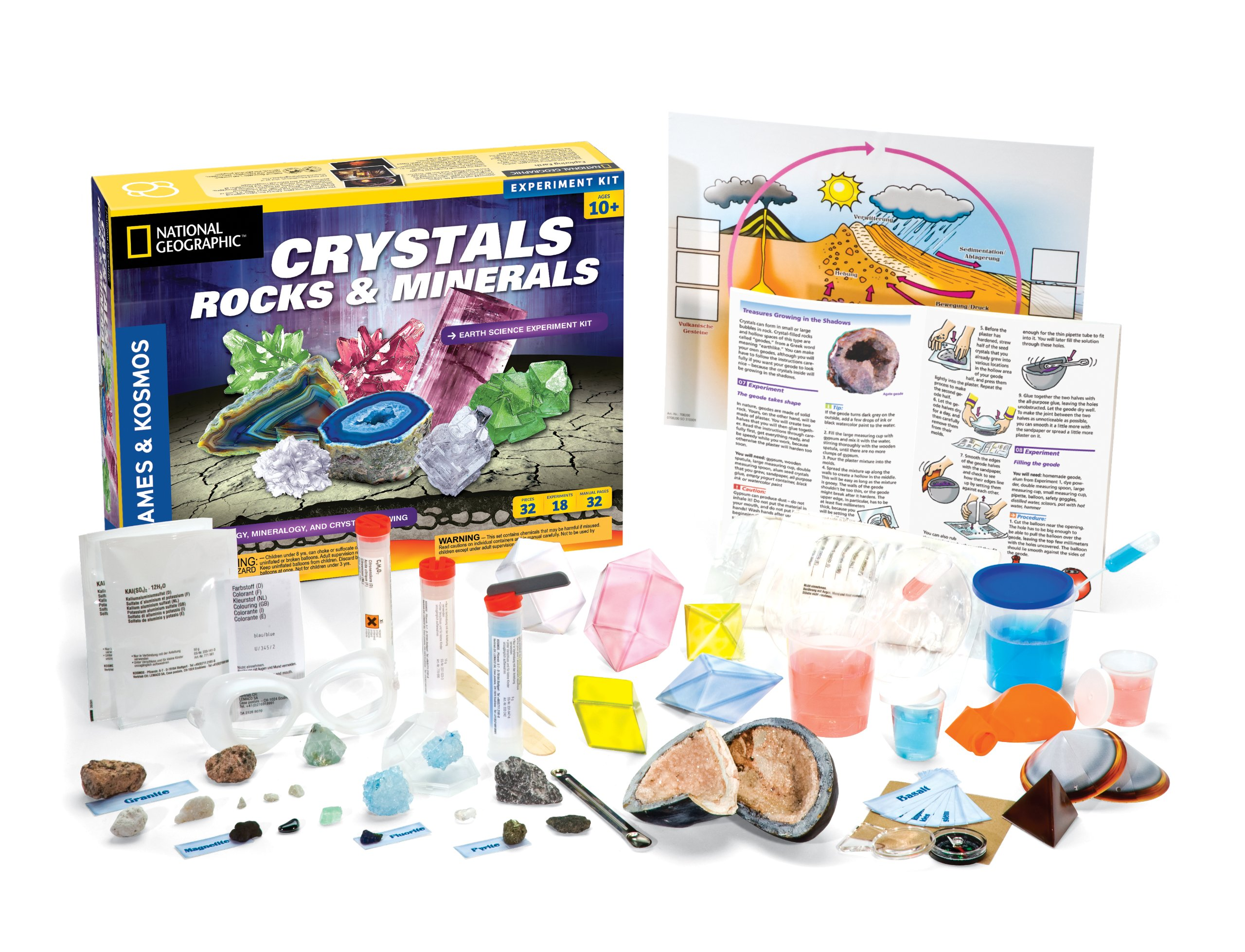 Thames & Kosmos Earth Science Crystals, Rocks, and Minerals by Thames & Kosmos (Image #2)