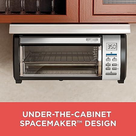 Amazon.com: BLACK+DECKER Spacemaker Under-Counter Toaster Oven ...