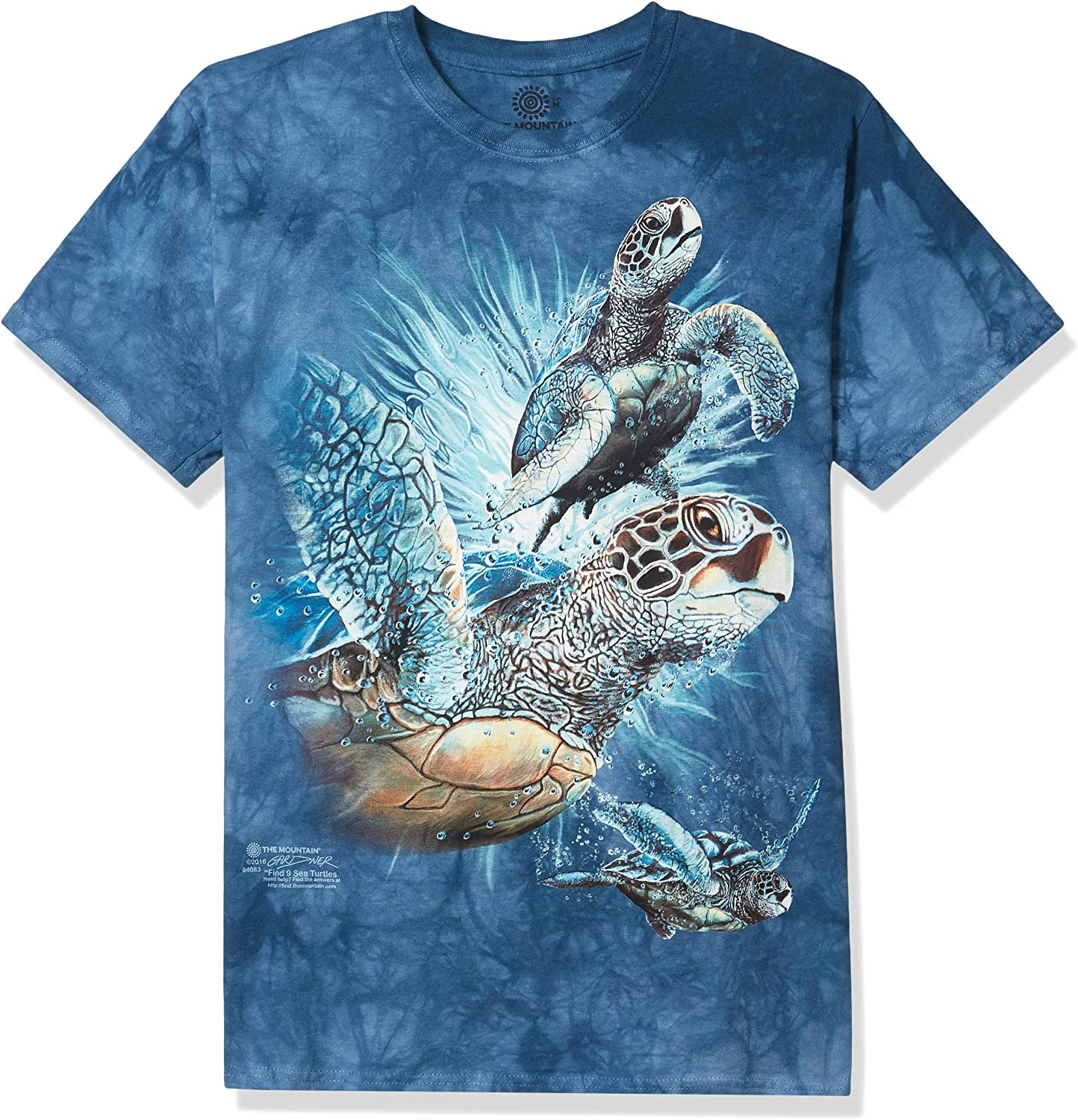 FIND 9 SEA TURTLES CHILD T-SHIRT THE MOUNTAIN