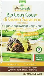 Altricereali Cous Cous Trigo Sarraceno sin Gluten - 4 Paquetes de 1 x 375 gr -