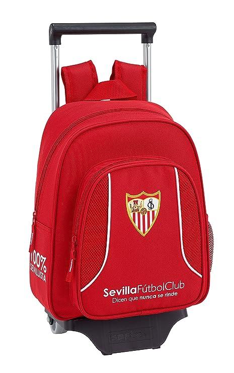 F.C; sevilla 611856020 2018 Mochila Infantil, 34 cm, Rojo