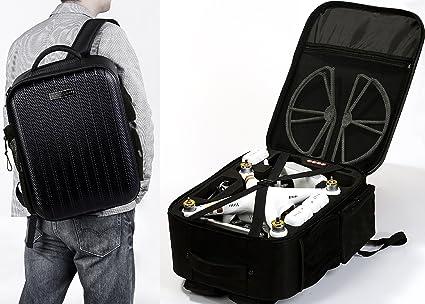 Koozam NEW DJI Phantom 3 Extra Light CARBON FIBER Backpack designed to fit the  Phantom 3 6d0796cd9d6d9
