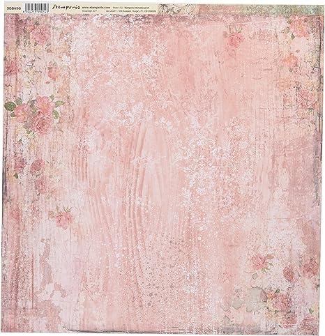 Stamperia Papel Scrap Textura Tapiz, Multicolor, Talla unica: Amazon.es: Hogar