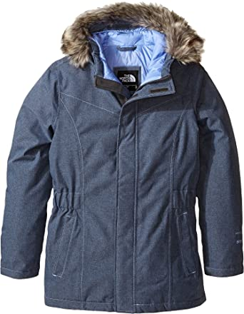 The North Face Greenland - Parka para niña (Talla Grande) - Azul - X-Large: Amazon.es: Ropa y accesorios