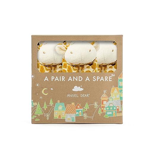 Angel Dear Pair and a Spare 3-of-a-kind blanket, Giraffe