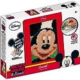 Quercetti 00825 - Gioco Wd Pixel Art Mini Mickey