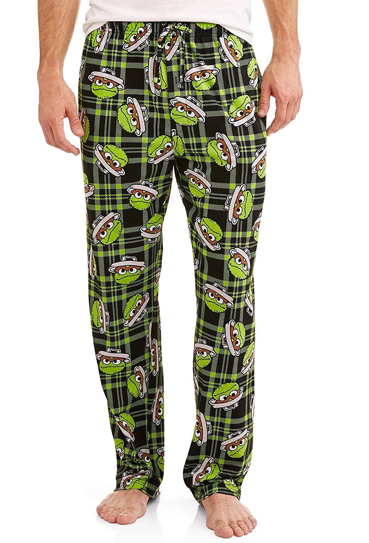 Sesame Street Men's Character Pajama Sleep Pants HI FIDELITY