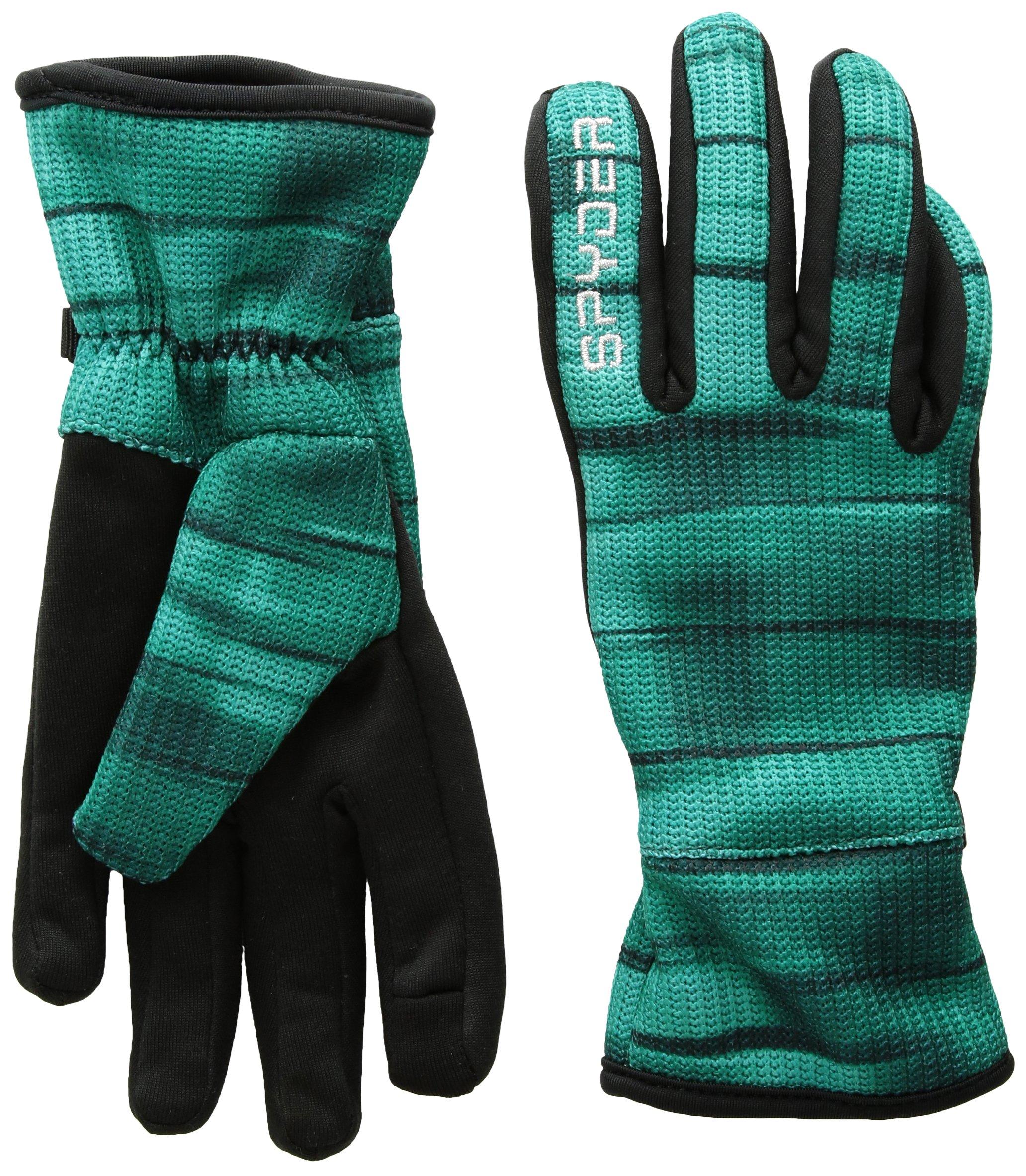 Spyder Women's Stryke Fleece Conduct Glove, Baltic Wind Print, X-Small by Spyder