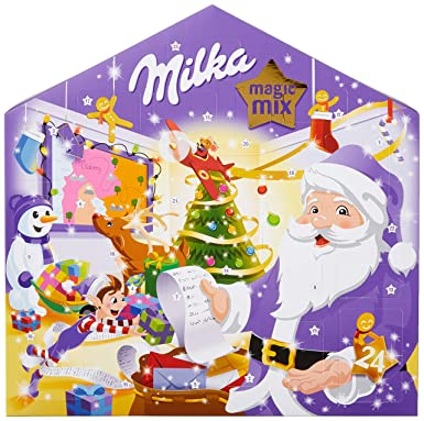 Milka Magic Mix Adventskalender, 1er Pack (1 x 204 g)