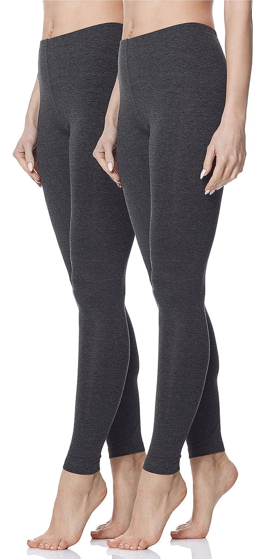 Merry Style Pack de 2 Leggins Pantalones Largos Pantalón Deportivas Mujer MS10-143