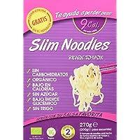 Slim Pasta Noodles Harina Orgánica de Konjac - 6 Paquetes de 270 gr - Total: 1620 gr