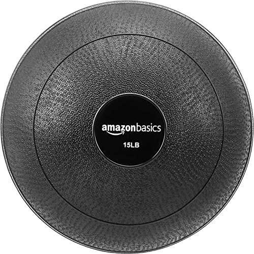 AmazonBasics Excersize Slam Ball, Smooth Grip