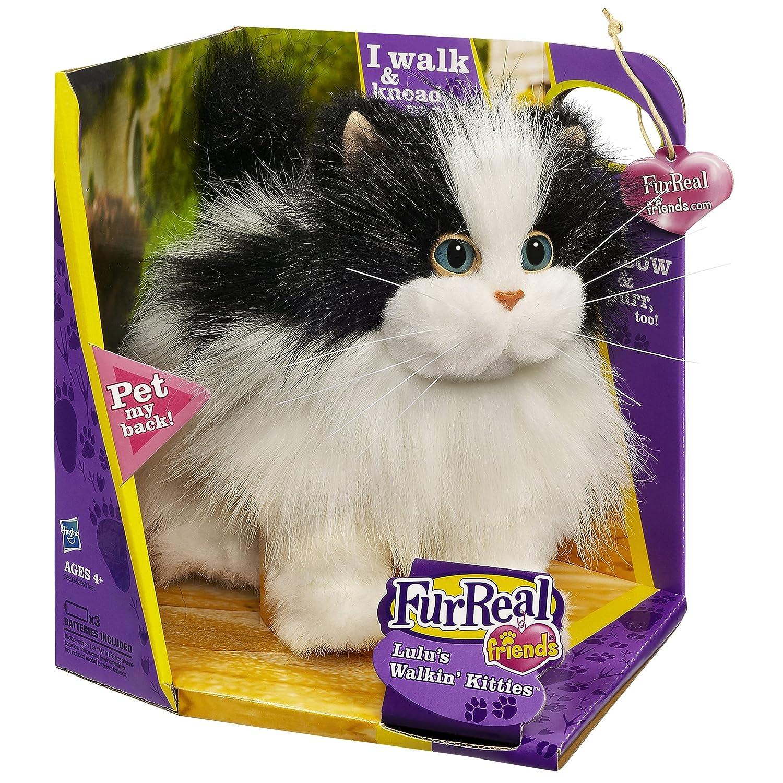 Amazon FurReal Friends Lulu s Walkin Kitties Black And