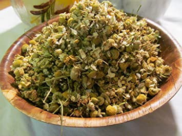 Chamomile Tea Premium Herb - 4 oz Loose Dried Flowers Wild Harvested in The Foothills of