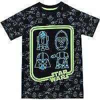 Star Wars T-Shirt - Garçon Brillent Dans Le Noir