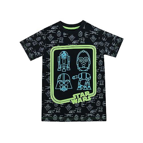 Star Wars Camiseta para Niño - Brilla EN la Oscuridad