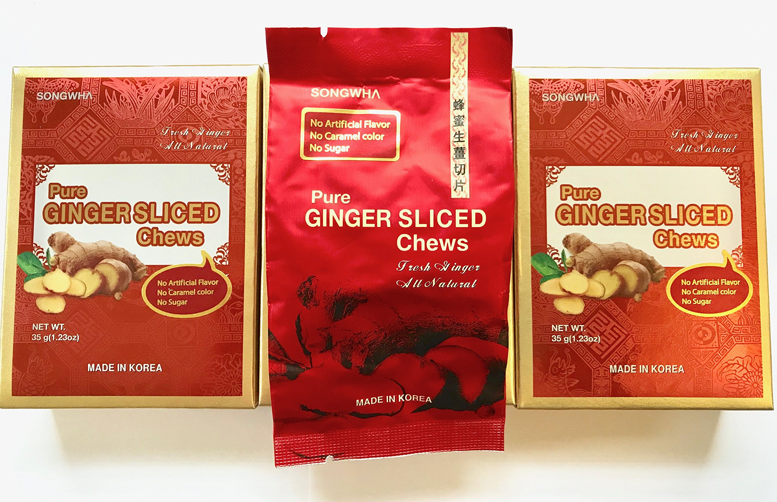 Songwha Pure Ginger Slices 3.7oz (Pack of 2) by Songwha (Image #4)