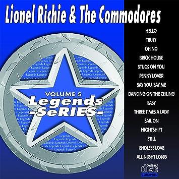 Lionel Richie & Commodores Karaoke Disc - Legends Series CDG Vol  005