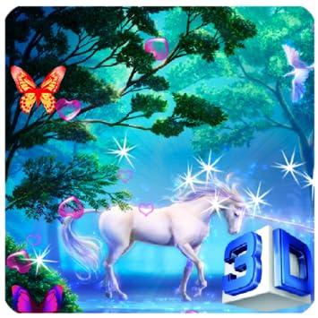 3D Unicorn Live Wallpaper