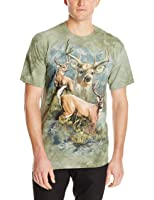 The Mountain Unisexe Adulte Patchwork De Cerf T Shirt